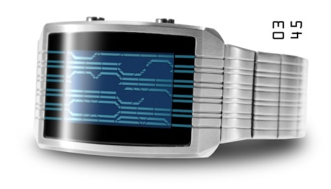 kisai_online_lcd_watch_with_accelerometer_from_tokyoflash_japan_silver_blue