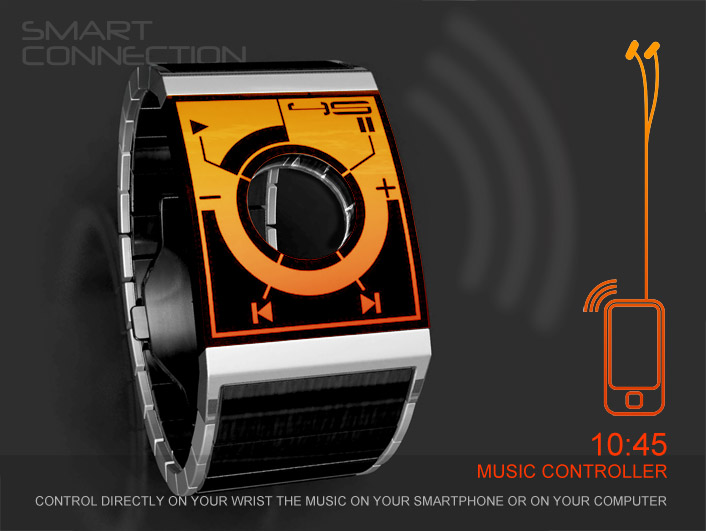Smart Connection Watch A Feature Rich Sci Fi Device