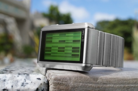 kisai_upload_USB_memory_watch_concept_to_reality_silver_green