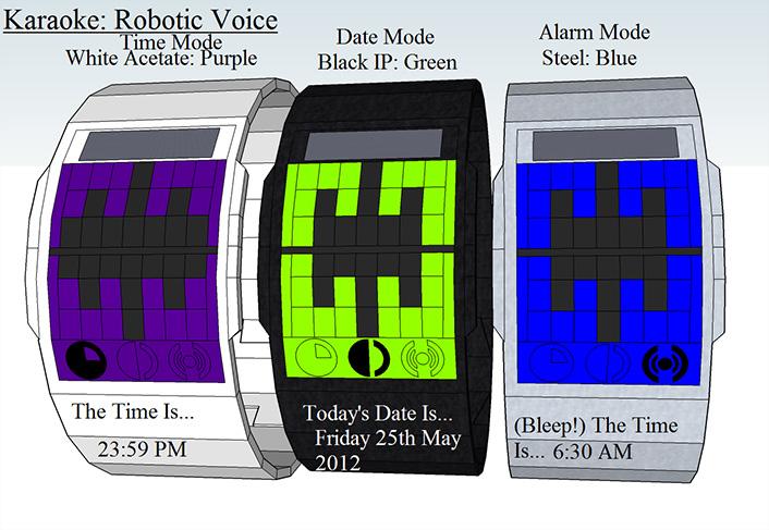 Karaoke-Robot