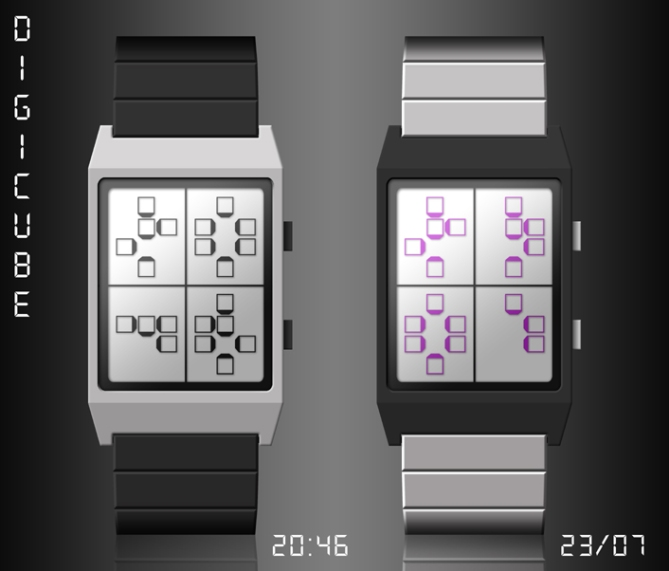 digicube_watch_design_digital_time_through_cubes_dual_color