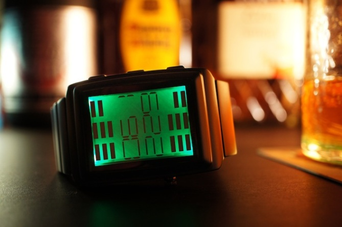kisai_oto_equalizer_watch_from_tokyoflash_japan_green