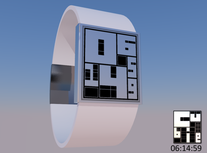 cubie_watch_design_frames_the_digital_time_white