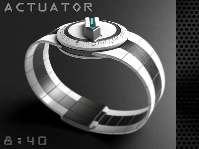 led_watch_with_user_actuation_to_reveal_time_white_option