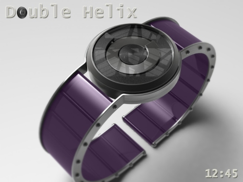 spring_washer_inspired_double_helix_watch_purple_strap