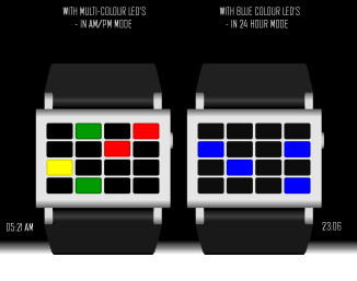 ONE-6 LED WATCH for TF (3)