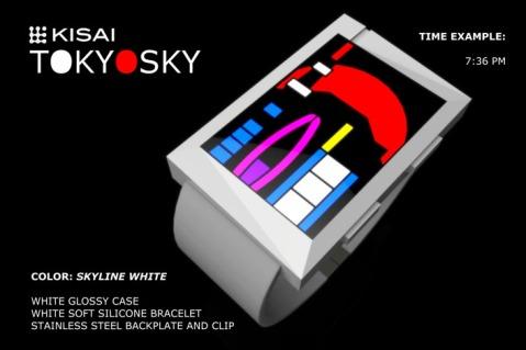 Tokyosky Skyline White